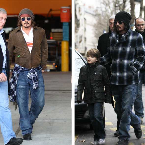 Johnny Depp - czapki over-size w answear.com