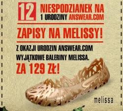 Zapisy na buty MELISSA!