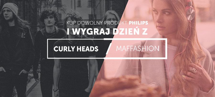 Wygraj dzień z Maffashion lub curly Heads - konkurs ANSWEAR i Philips