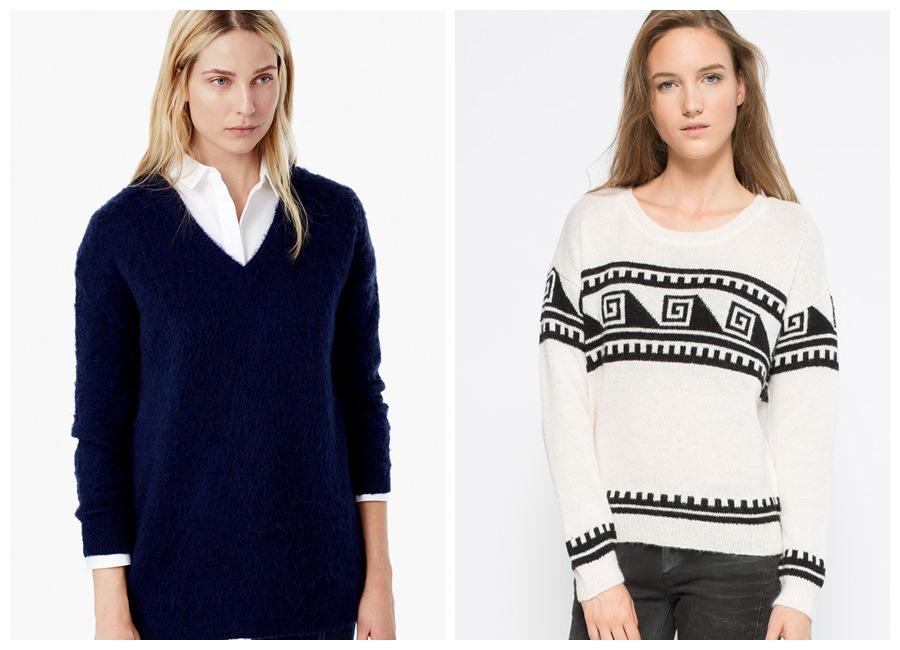 Sweter w świątecznym klimacie