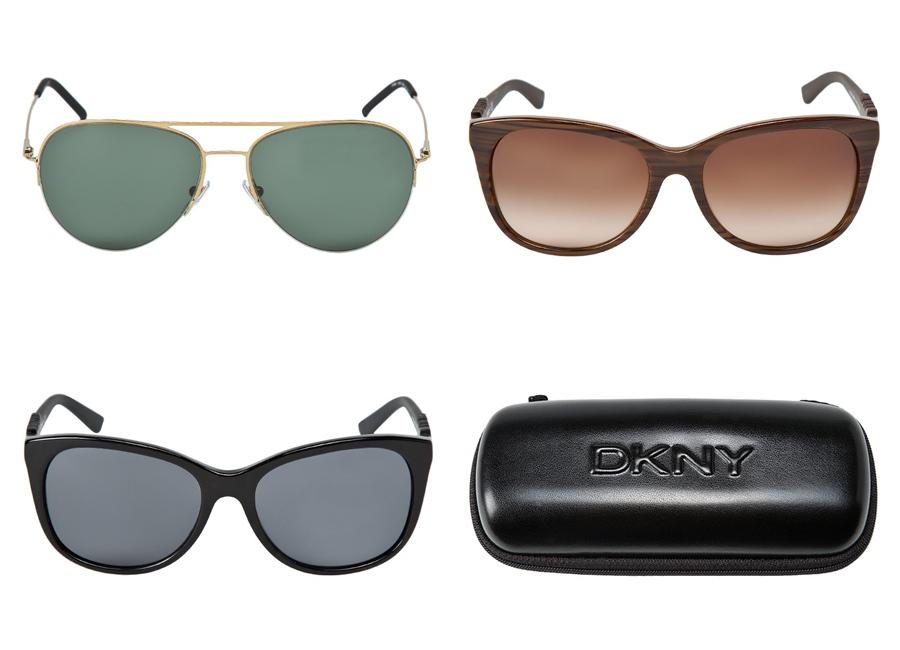 okulary DKNY zima
