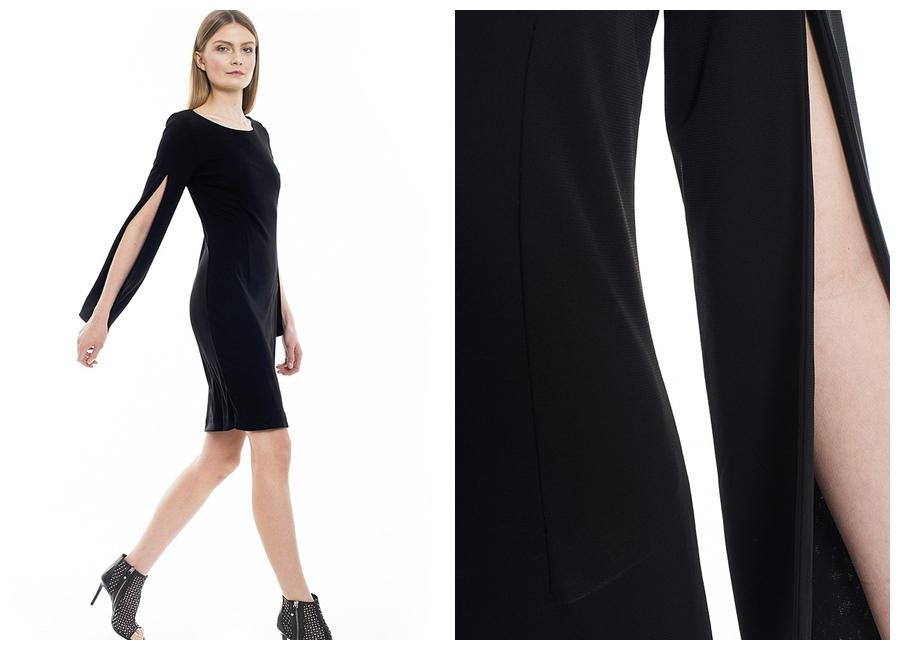 sukienka Mango mała czarna