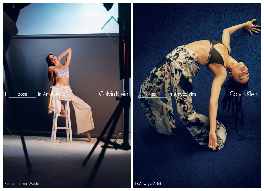 FKA twigs Jenner Calvin Klein Underwear