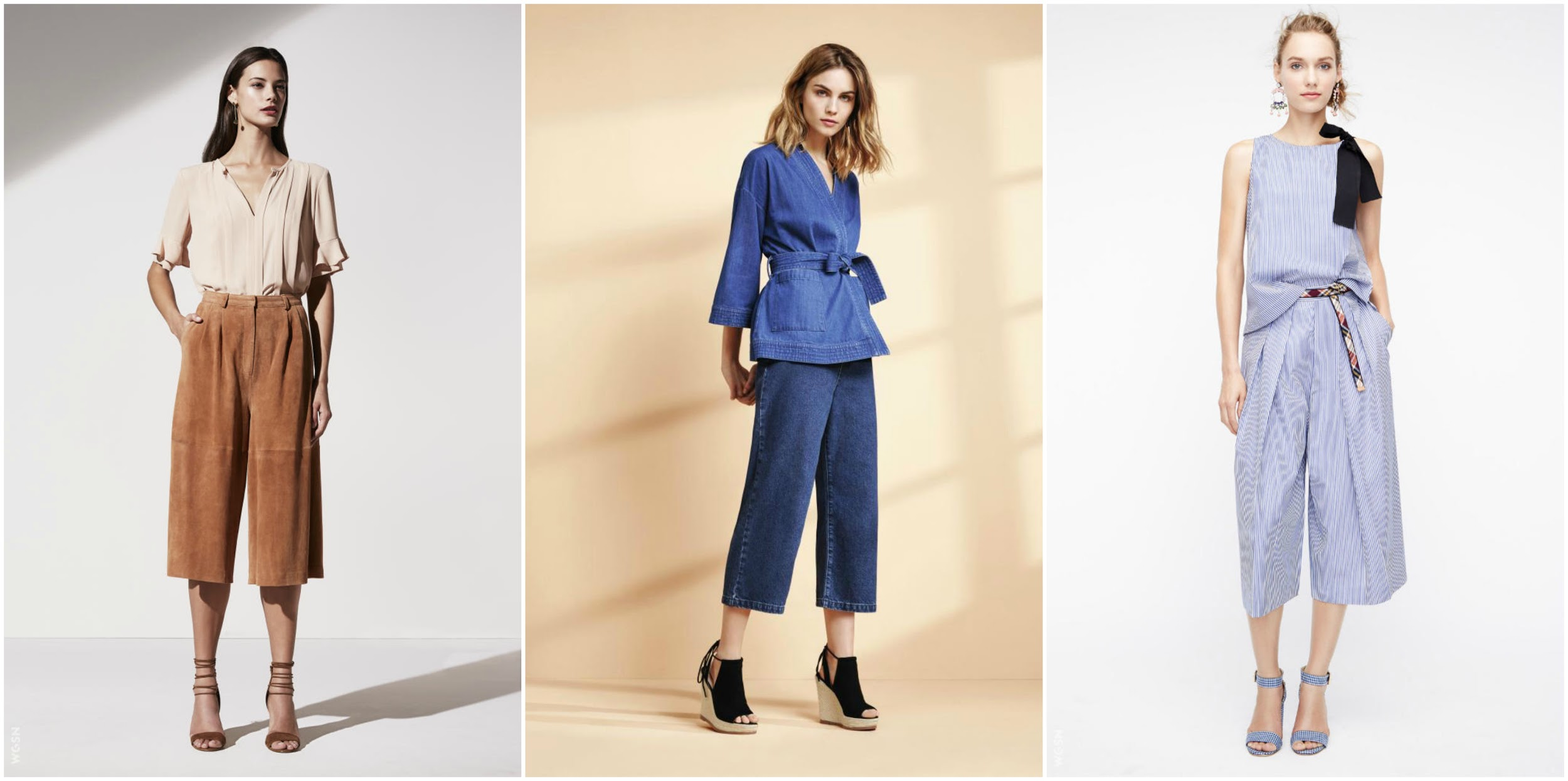 3 rodzaje spodni culottes