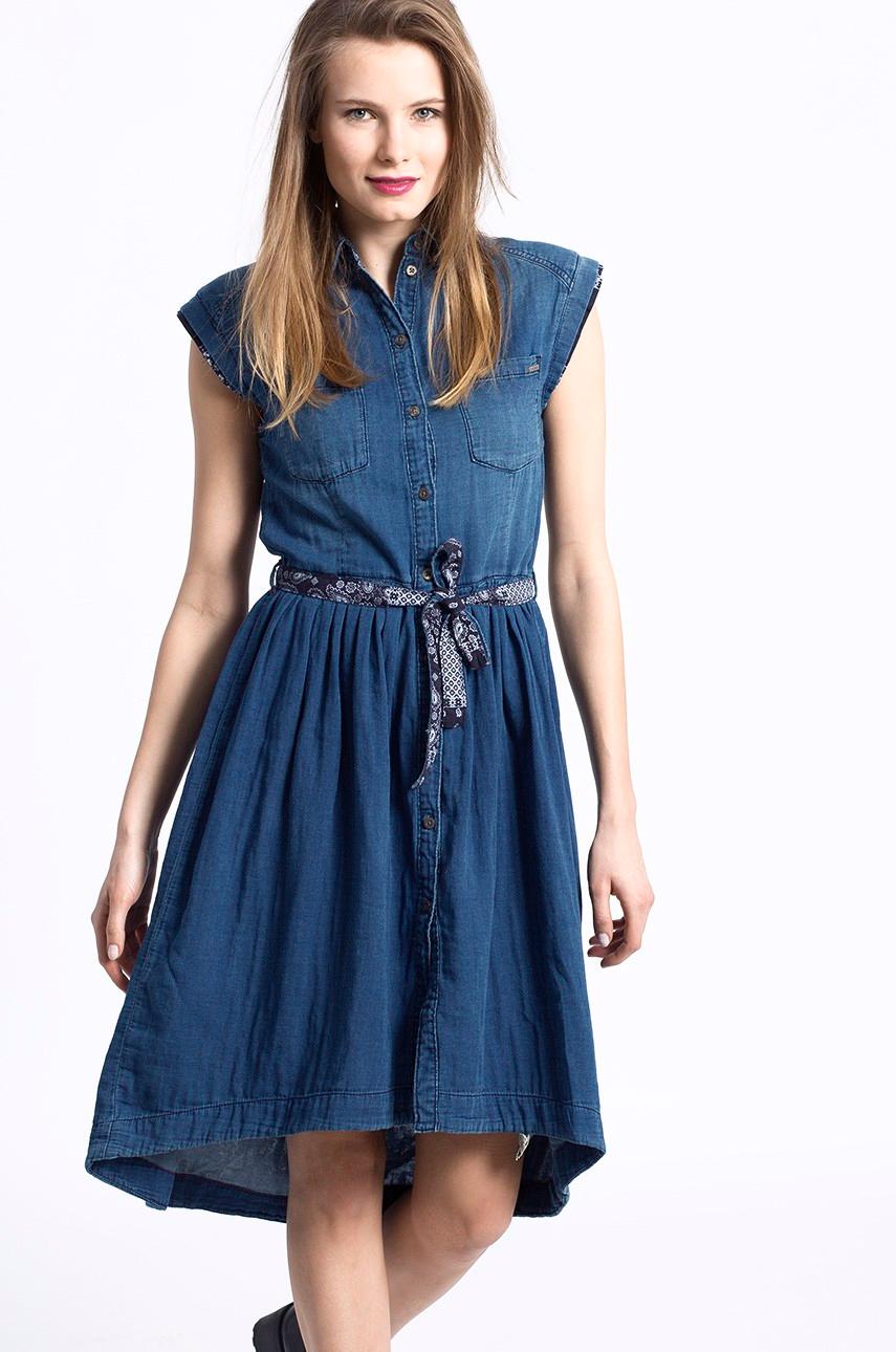 jeansowa-sukienka