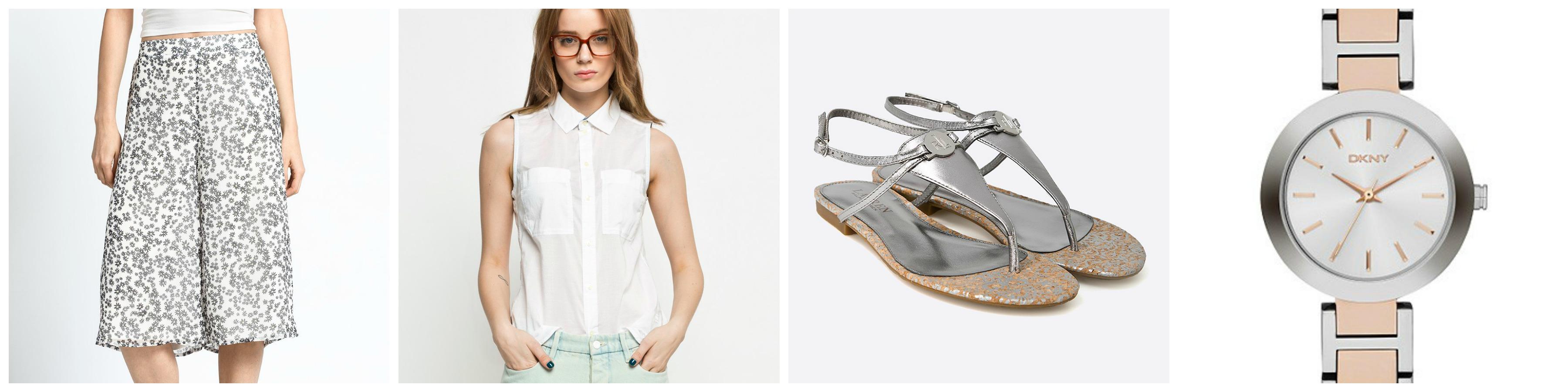 culottes-bluzka-buty-zegarek