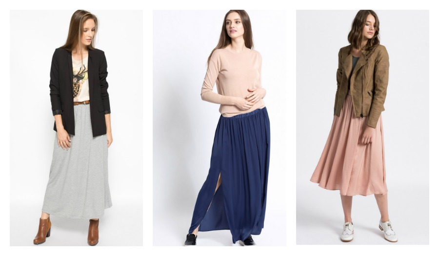 99559b60 Jak nosić spódnice maxi w chłodniejsze dni? - Blog Answear.com