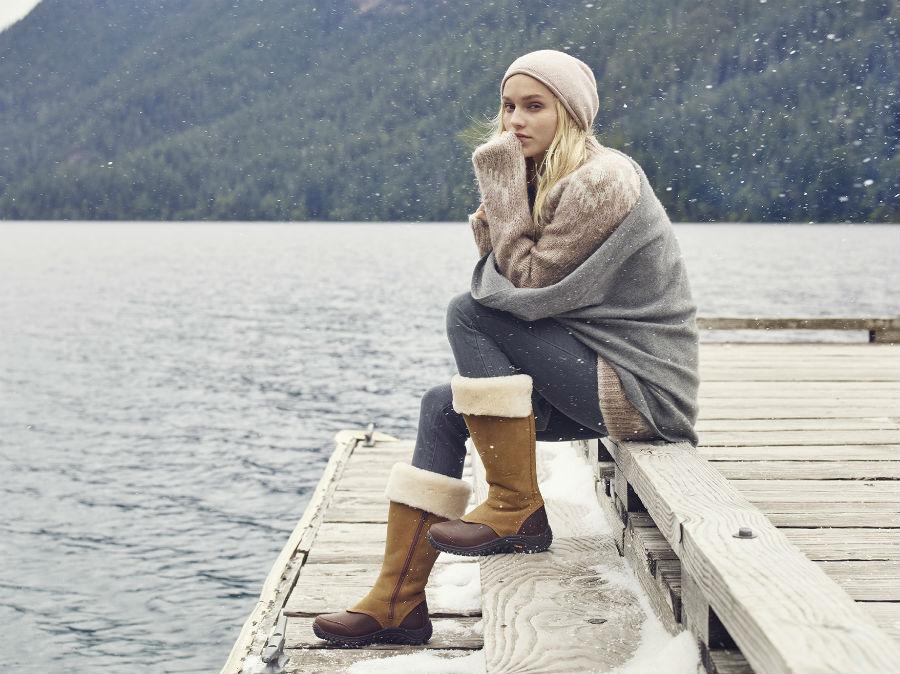 zimowe ubrania