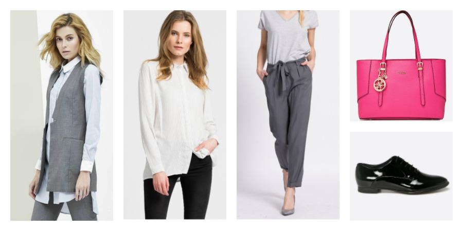 shoes, bag, camisole, shirt, pants