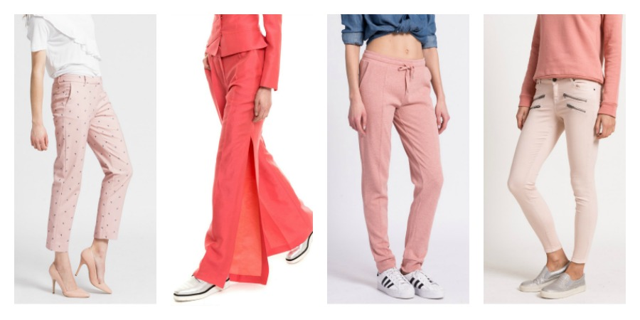 pink trousers