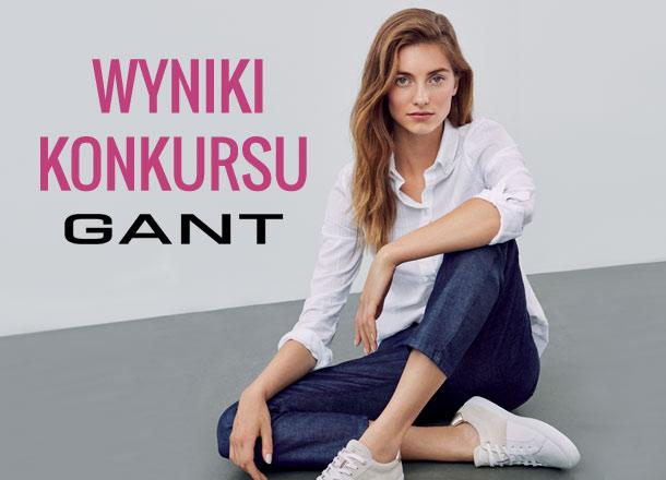 Wyniki konkursu z marką Gant