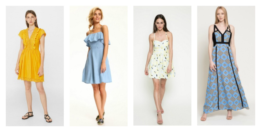 dresses for apple shape