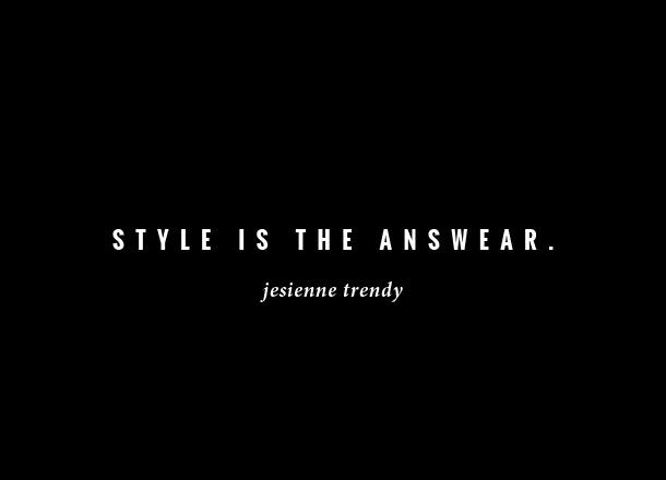 Jesienne trendy: co będzie modne w nadchodzącym sezonie?