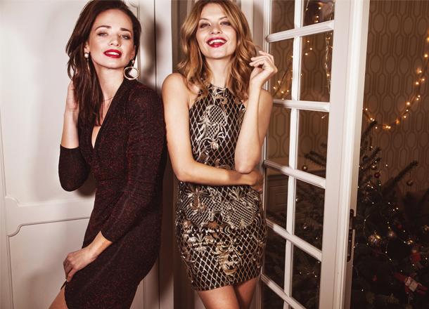 Świąteczne stylizacje – 7 propozycji z sukienką w roli głównej