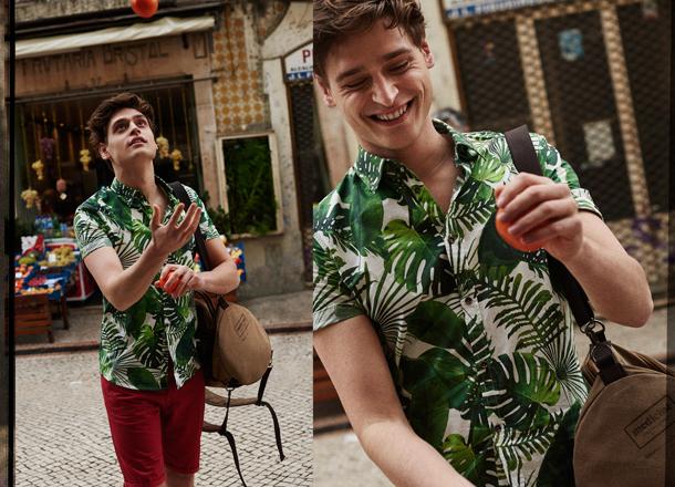 Hawajska koszula – hit męskich pokazów SS18
