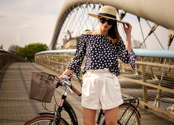 4 wiosenne stylizacje w sam raz na rower