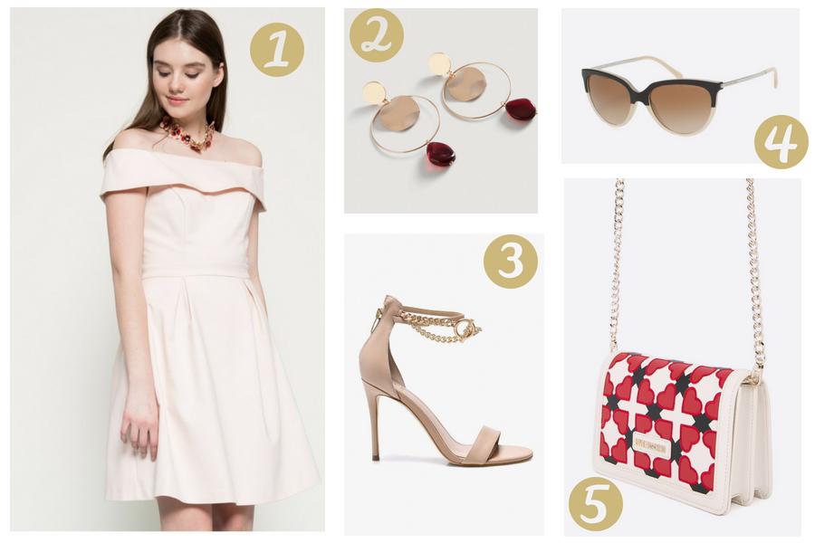 różowe sukienki hiszpanki