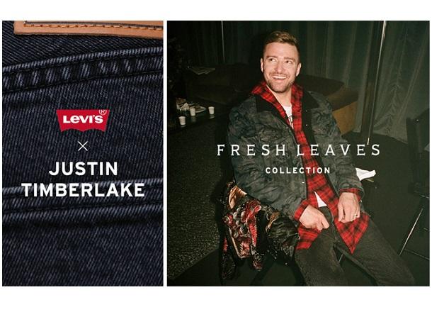 Levi's  i Justin Timberlake łączą swoje siły!
