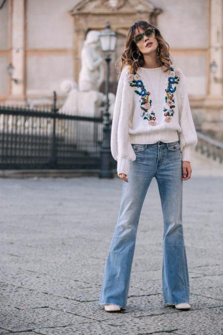 modne jeansy 2019 answear