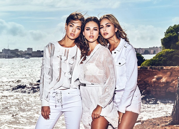 Kampania Guess Jeans na wiosnę 2019