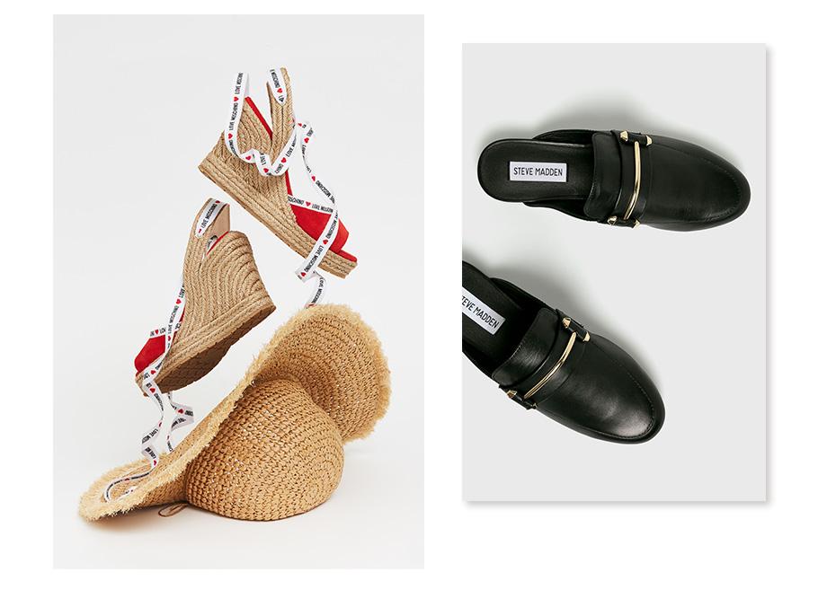 buty z odkrytą piętą