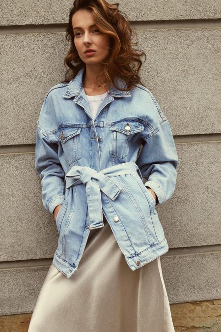 kurtka jeansowa answear