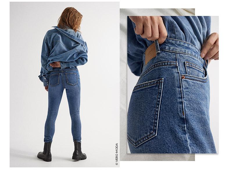 rodzaje jeansów damskich