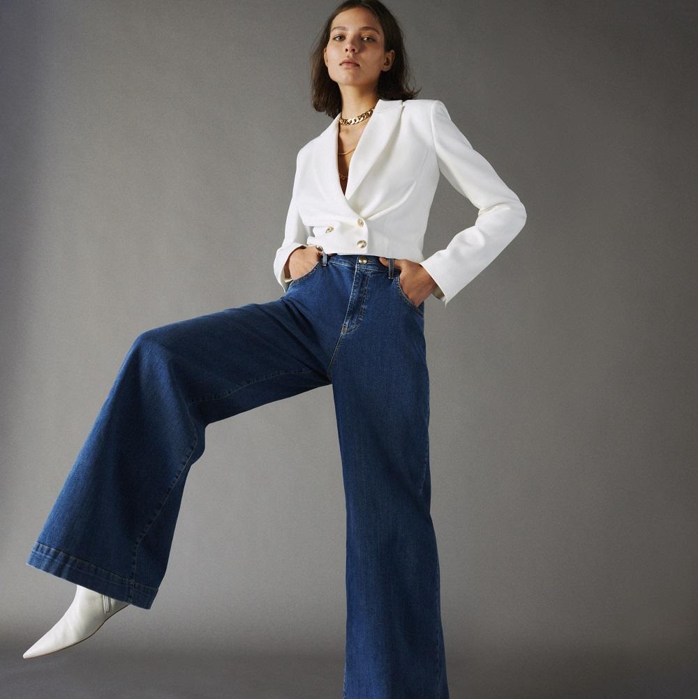 masywne uda spodnie