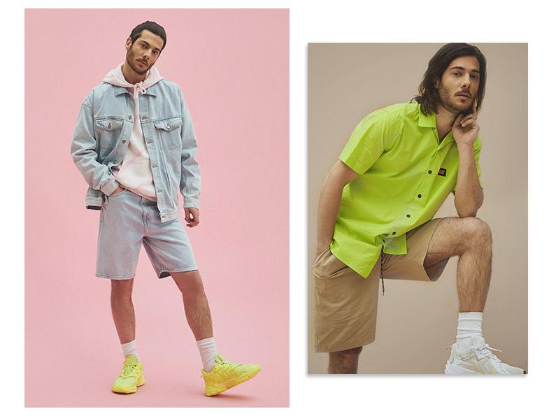 męskie trendy na lato