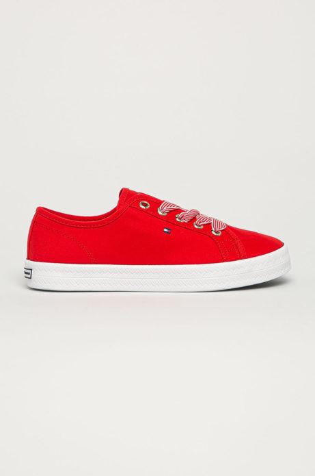 czerwone buty tommy hilfiger