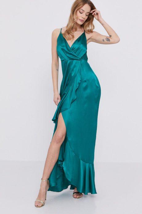 marciano guess długa sukienka