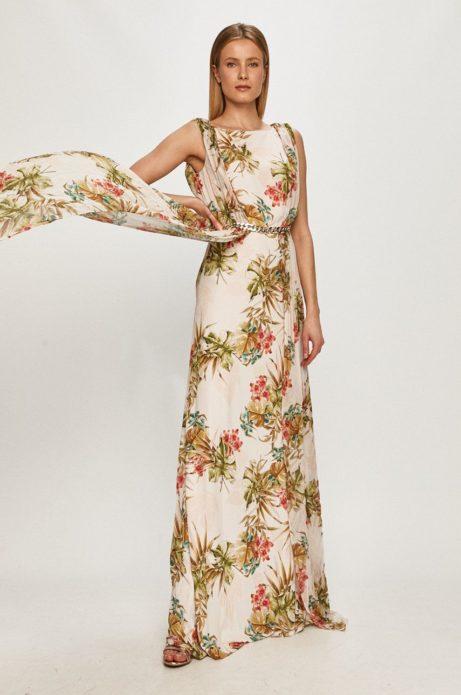 marciano guess długa sukienka na wesele