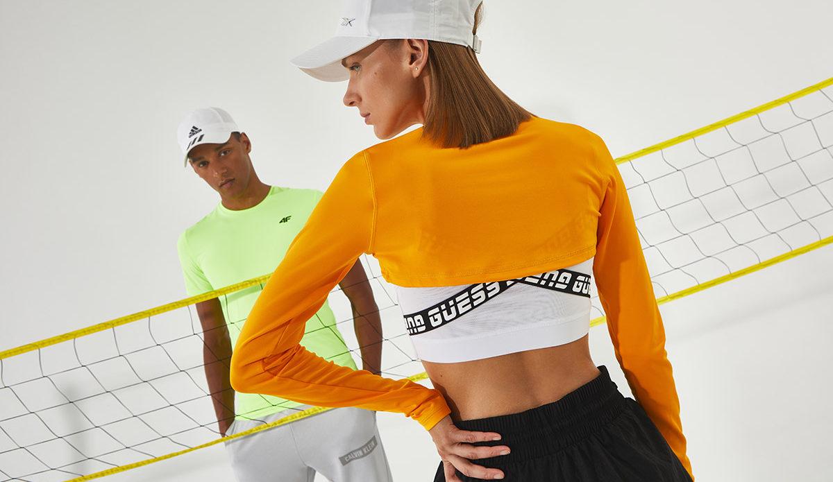 sportowe ubrania