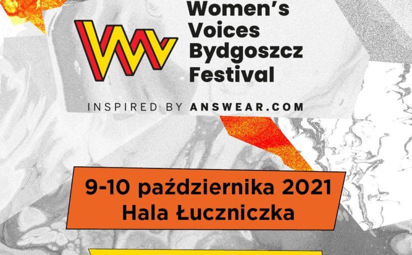 Nowy termin Women's Voices Bydgoszcz Festival inspired by Answear.com